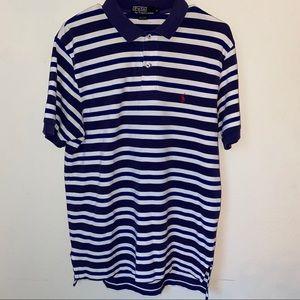 Striped Ralph Lauren Polo Shirt